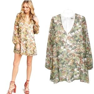 Show Me Your Mumu fall floral print Donnie dress